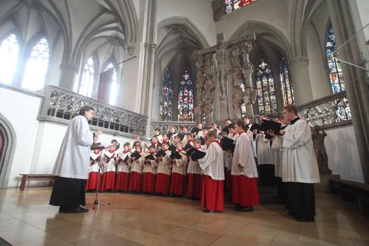 """Aschermittwoch der Künstler im Augsburger Dom: Vertonungen des """"Miserere"""""""