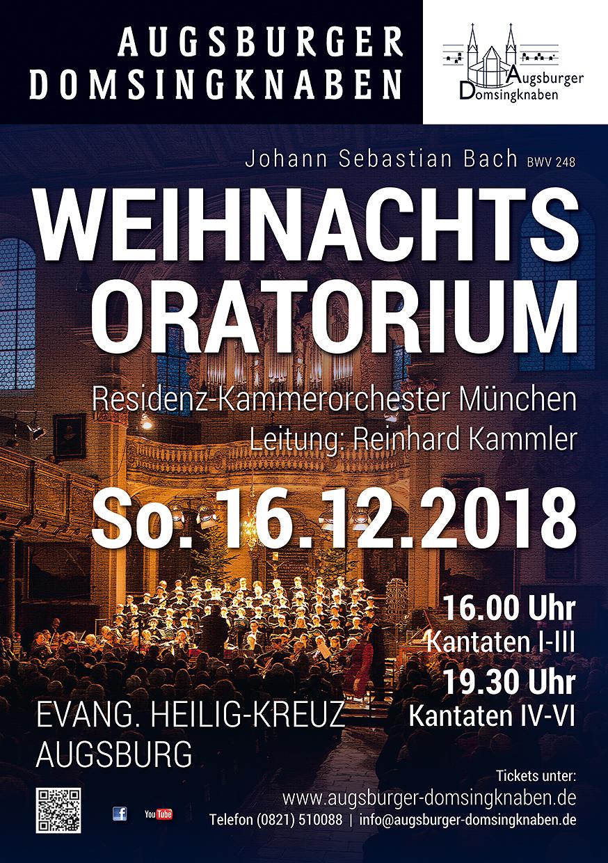 Augsburger Dommusik: Neues Jahresprogramm und Weihnachtsoratorium der Domsingknaben