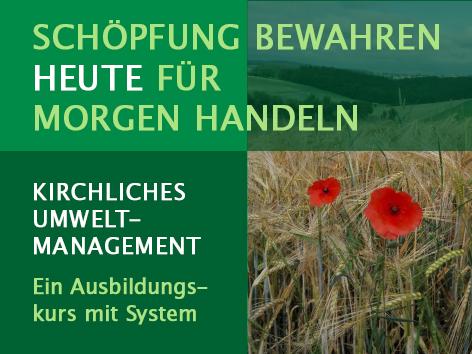 Ausbildungskurs: Kirchliches Umweltmanagement