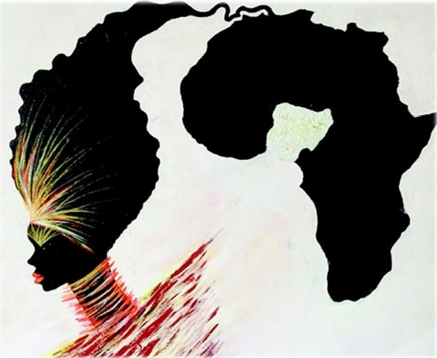 Ausstellung mit Werken von Vivian Timothy aus Nigeria