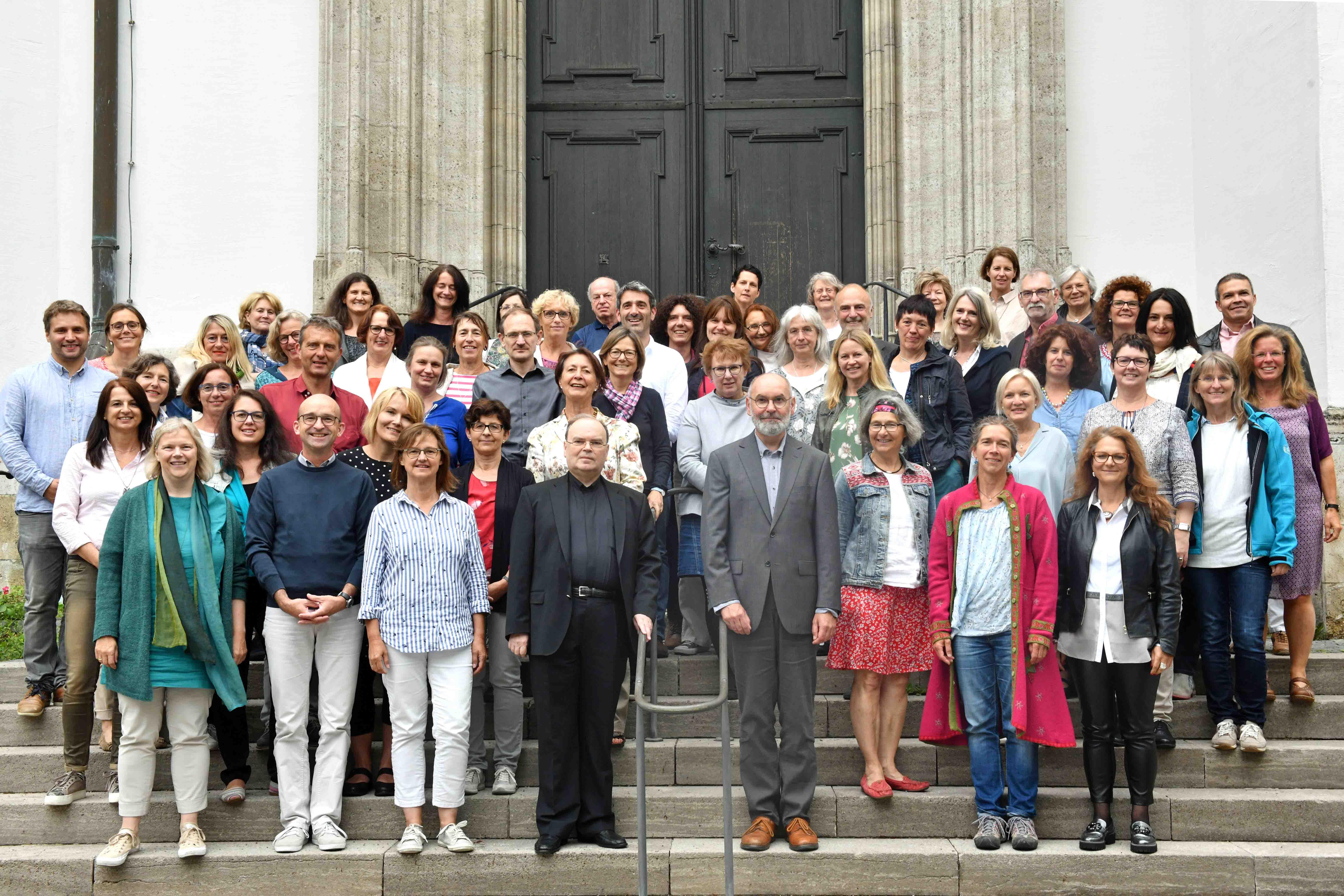 Dutzende Beraterinnen und Berater trafen sich in den vergangenen beiden Tagen im Haus St. Ulrich zum fachlichen Austausch. (Foto: Daniel Jäckel / pba)