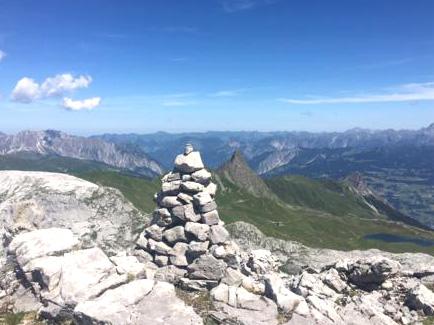 Bergexerzitien im Angebot, unter anderem im Sarntal (Südtirol). (Foto Astrid Kunze)