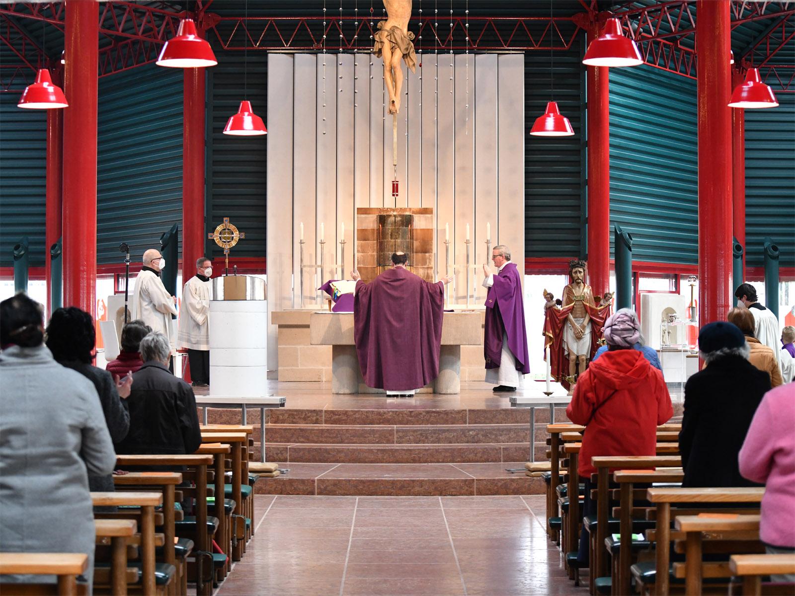 Pontifikalamt zum Elendssonntag
