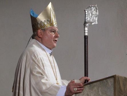 Bischof Dr. Konrad Zdarsa feierte am 23. Oktober 2010 sein erstes Pontifikalamt als Diözesanbischof von Augsburg.