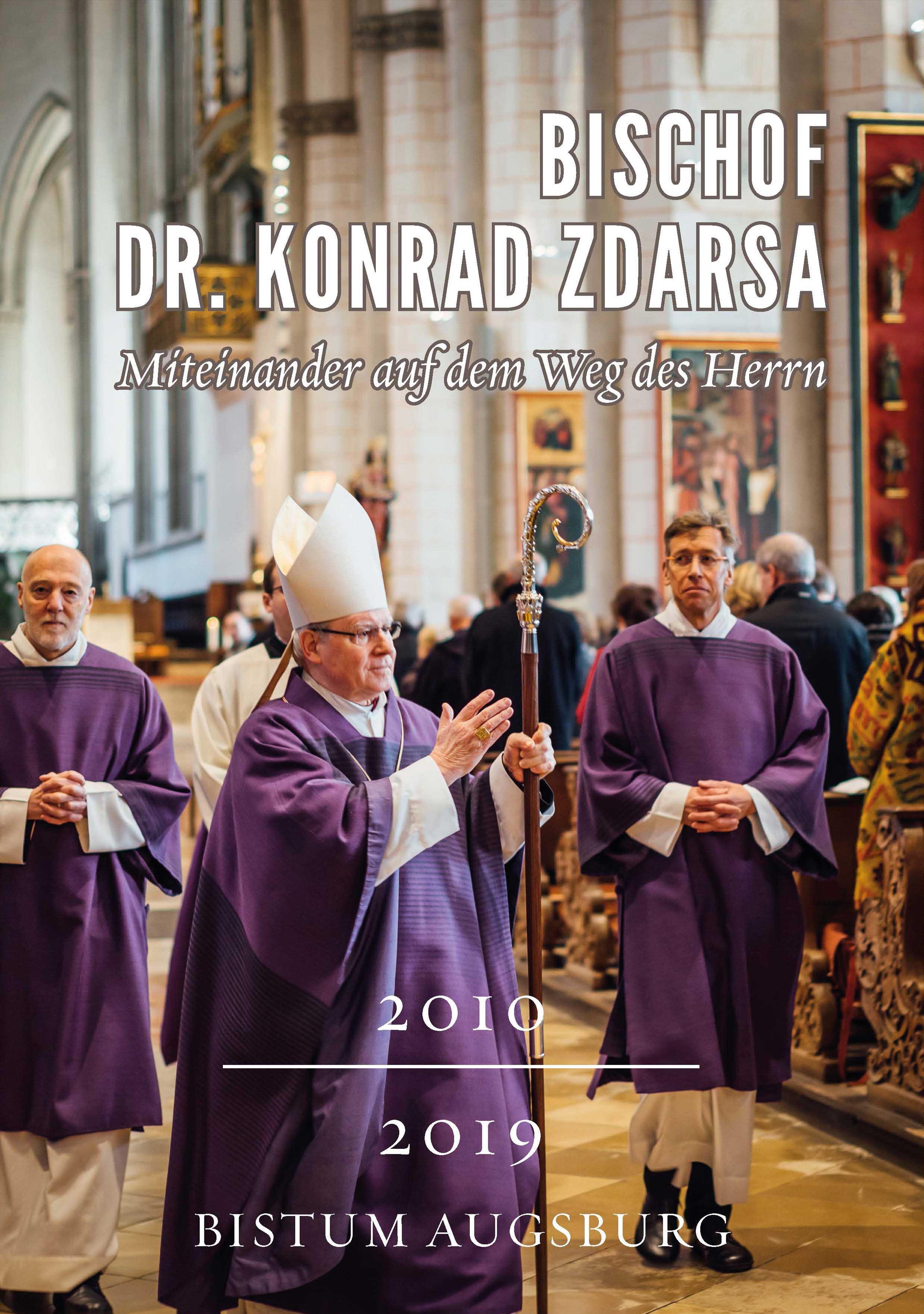 Bischof Konrad: Broschüre zum Abschied