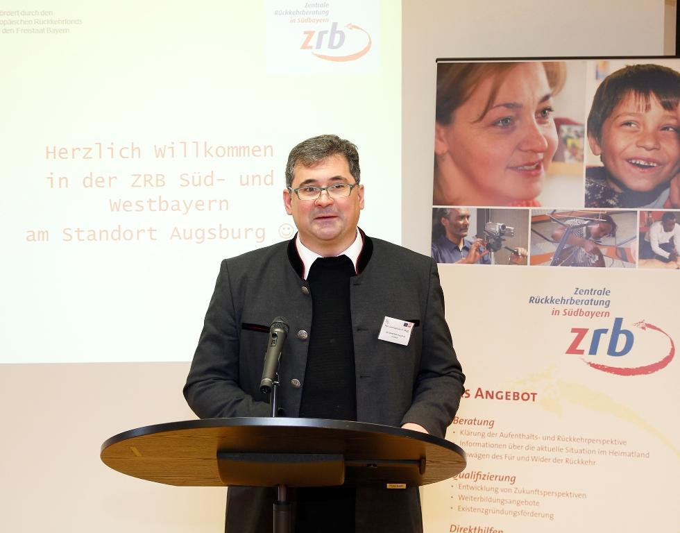 Diözesan-Caritasdirektor Domkapitular Dr. Andreas Magg. (Foto: Caritas)