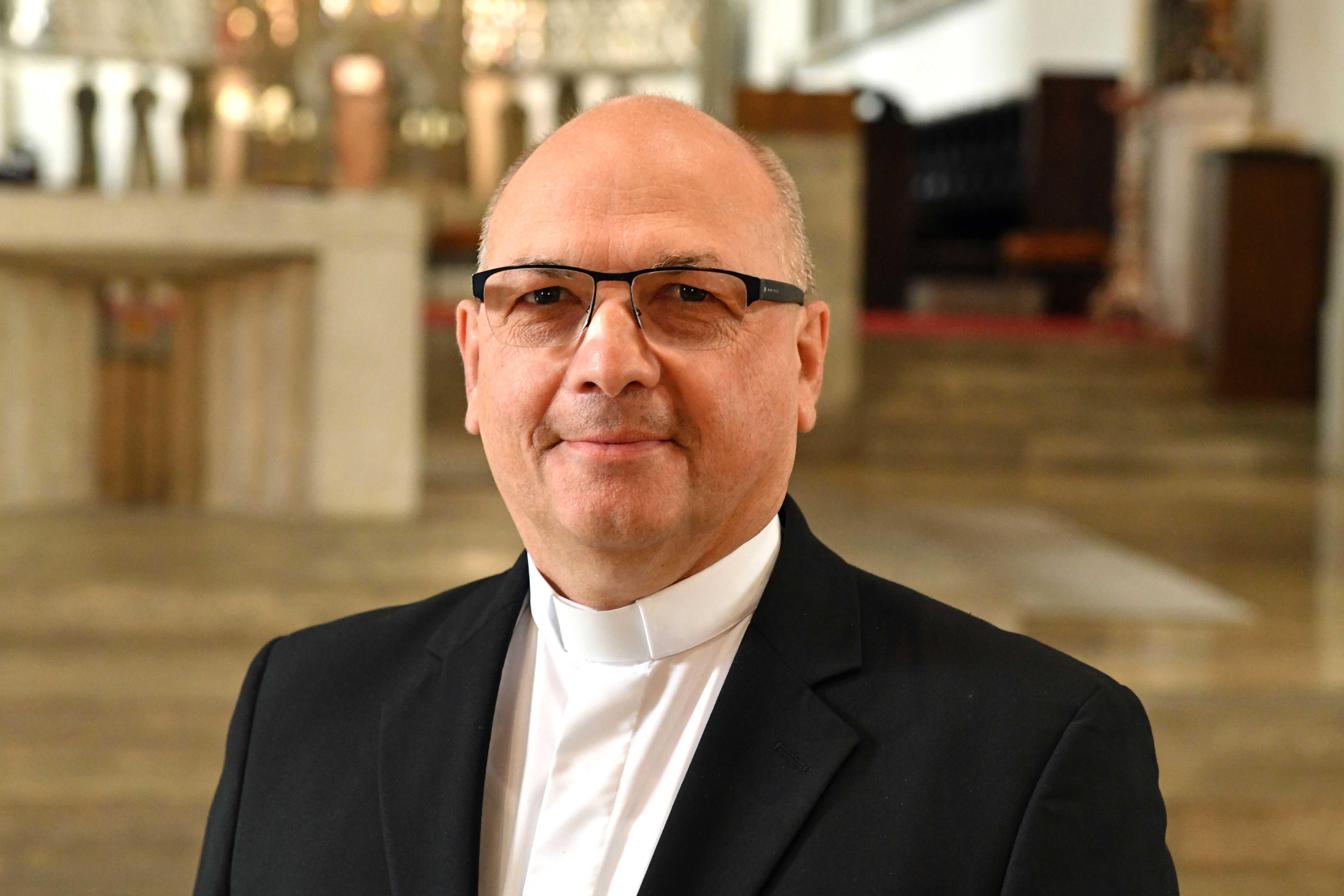 Pfarrer Ulrich Müller, Bischöflicher Zeremoniar. (Foto: Nicolas Schnall / pba)