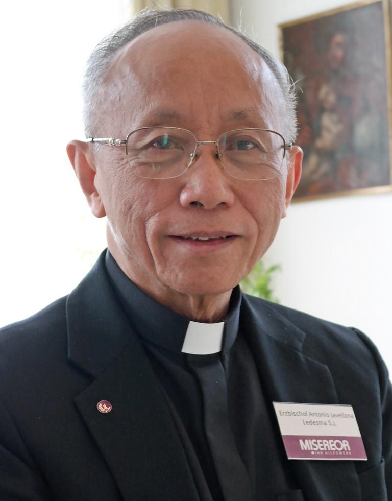 Erzbischof Dr. Antonio Ledesma SJ von Cagayan de Oro auf Mindanao (Philippinen): Er gilt als Klimaexperte der philippinischen Bischofskonferenz. (Foto: Maria Steber/pba)