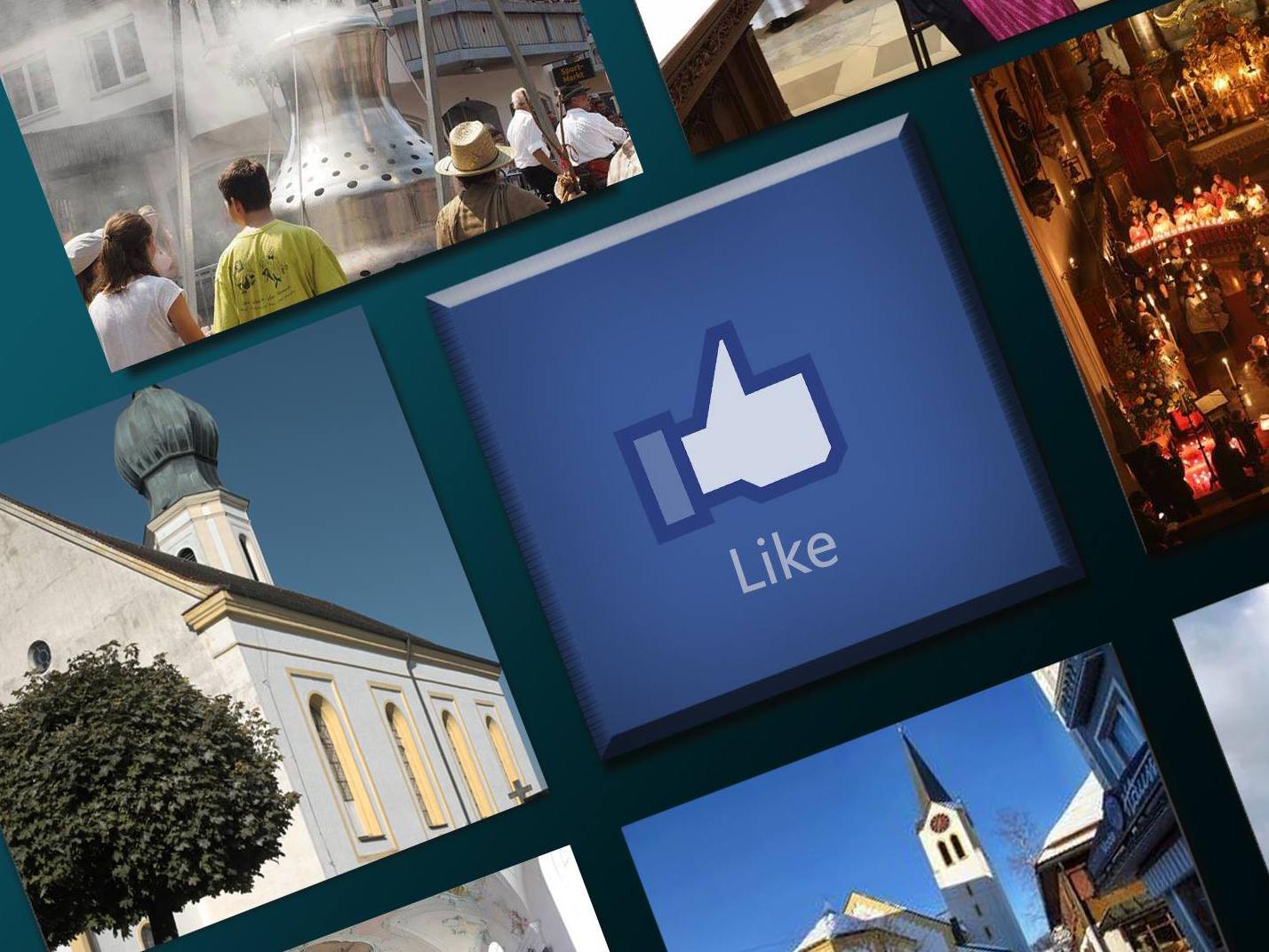 Facebook-Aktion mit Bistumspfarreien
