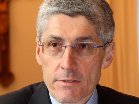 Finanzdirektor Dr. Klaus Donaubauer. (Foto: Annette Zoepf)