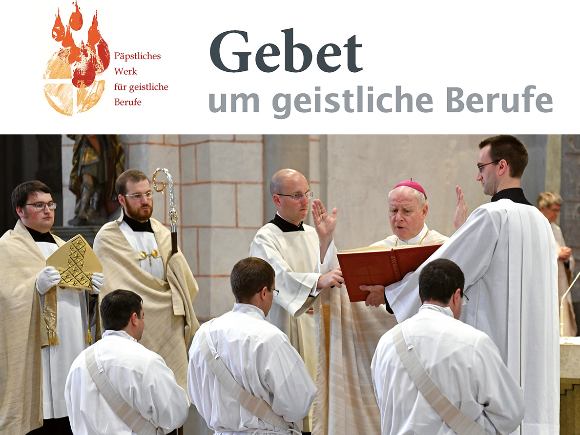 Gebet um geistliche Berufe im Augsburger Dom