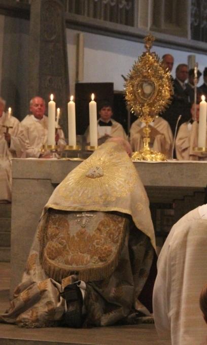 Gemeinsames Gebet mit Papst Franziskus