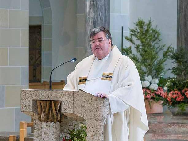 Generalvikar Harald Heinrich, Festprediger zum 90. Geburtstag von Bischof em. Viktor Josef Dammertz. (Fotos: Cassian Jakobs)