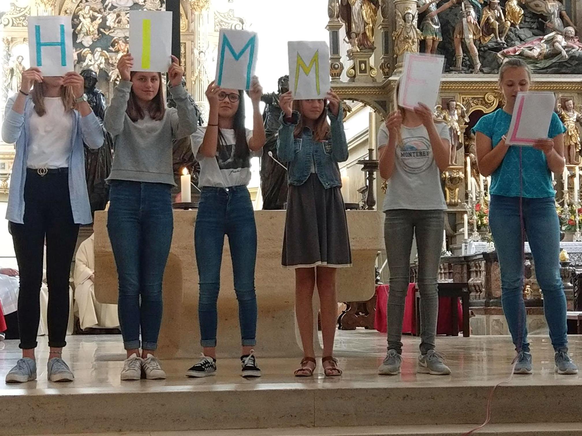 Ulrichswoche: Gottesdienst für Schulen des Schulwerks. (Foto: Schulwerk / Andreas Walch)