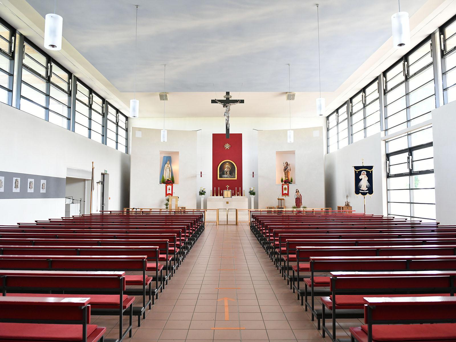 Das Kircheninnere