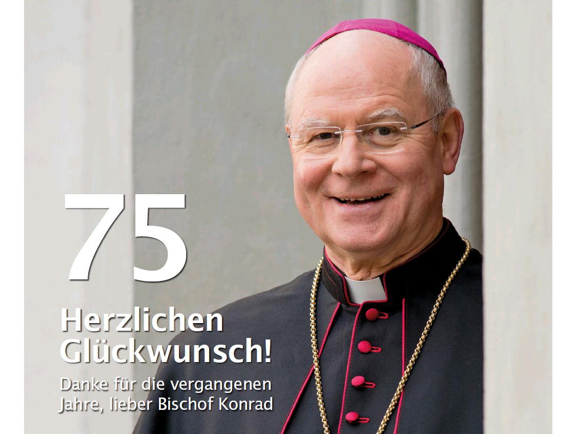Herzlichen Glückwunsch, lieber Bischof Konrad!