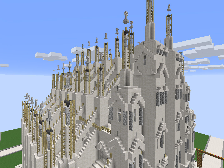 """Kirche online bauen: Jugendliche sind mit dem Computerspiel """"Minecraft"""" dazu eingeladen. (Bildmaterial: Jugendstelle Kaufbeuren)"""
