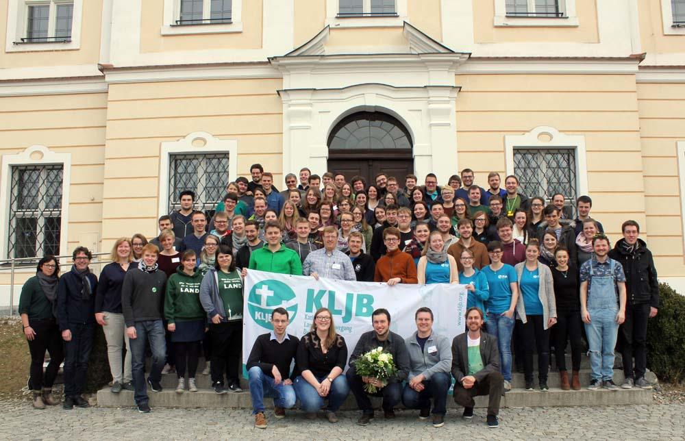 Fünf Tage versammelten sich die rund 100 Delegeierten der Katholischen Landjugend im Kloster Roggenburg. (Foto: KLJB)