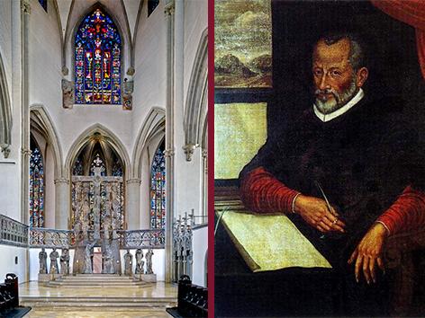 Innenansicht Ostchor des Doms / Giovanni Pierluigi da Palestrina. (Foto: Wameser / wikipedia)