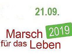 Marsch für das Leben: Aufruf zur Teilnahme