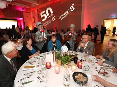 50 Jahre Kolping Akademie: Abschlussveranstaltung im Kolpingsaal in Augsburg. (Foto: Kolping Akademie)