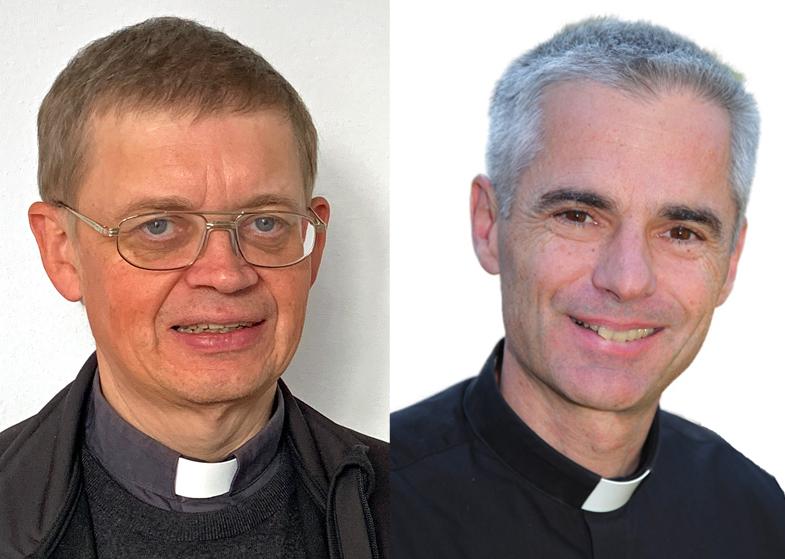 Zu Dekanen ernannt (von links): Pfarrer Bernhard Hesse für das Dekanat Kempten und Pfarrer Martin Straub für das Dekanat Neu-Ulm. (Fotos: privat)