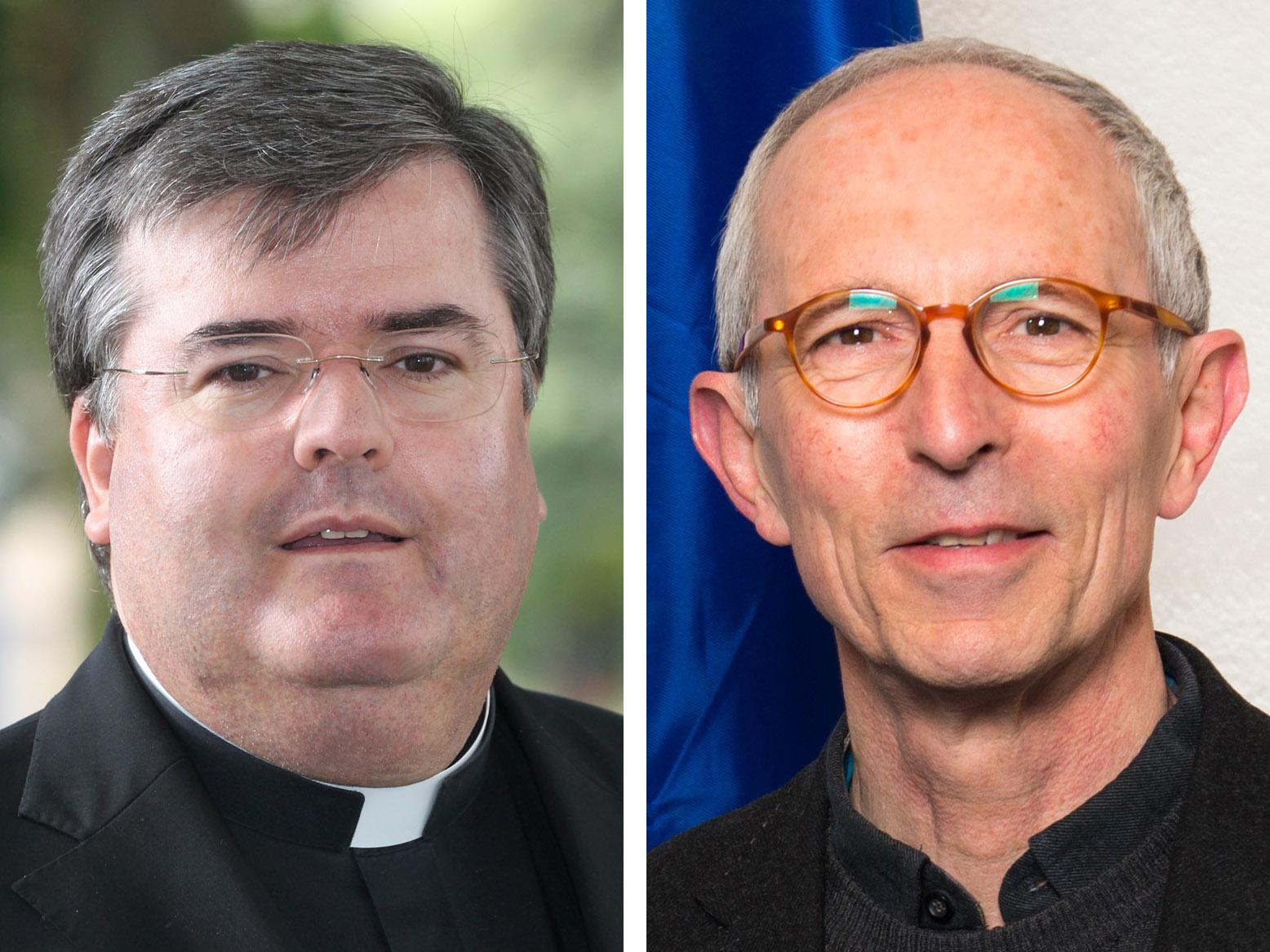 Ab September übernimmt Generalvikar Harald Heinrich (links) die Leitung der PG Dillingen. Der dortige Stadtpfarrer Wolfgang Schneck (rechts) wird Leiter der Priesterseelsorge im Bistum. (Fotos: Annette Zoepf / privat)