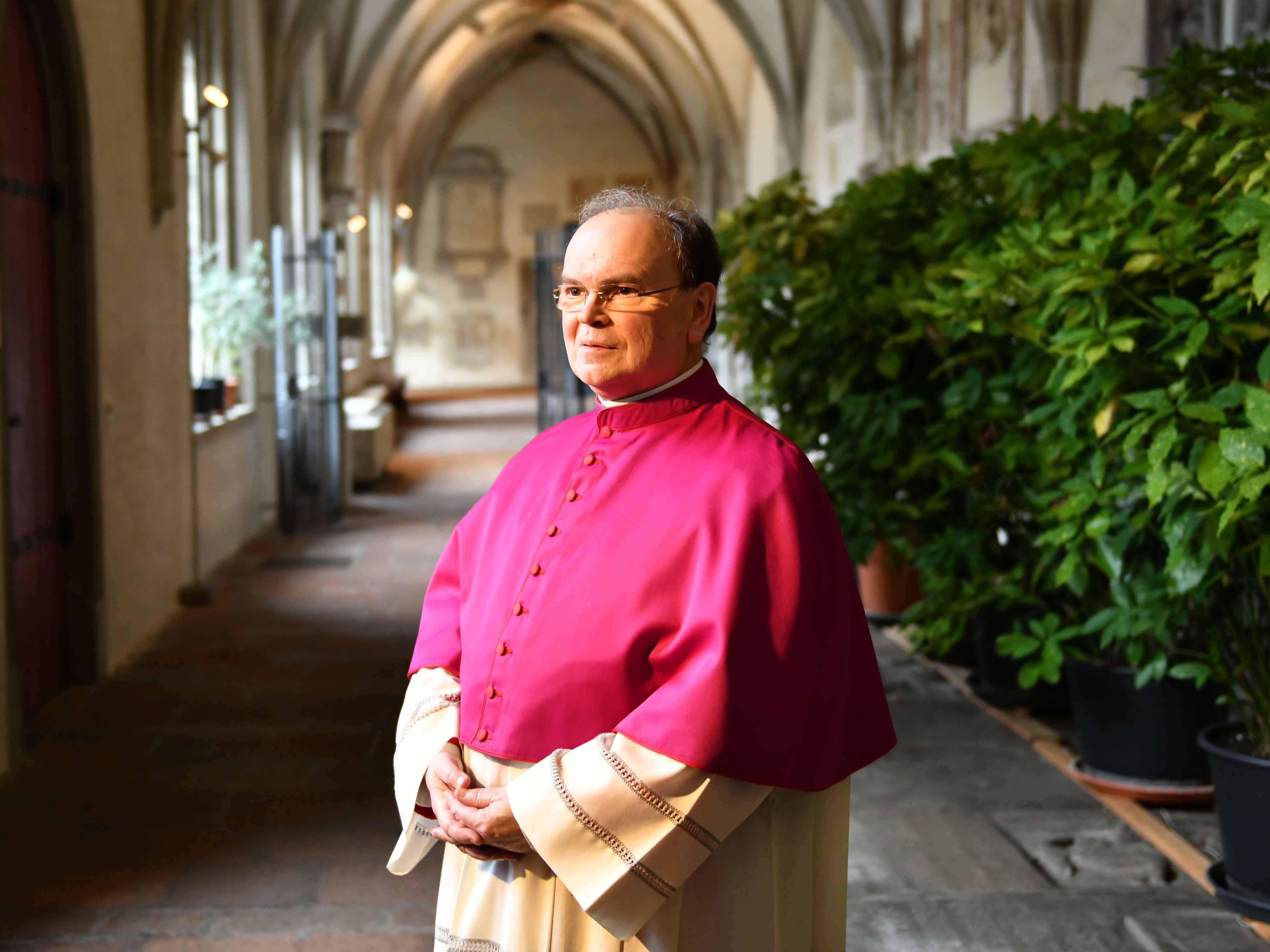 Apostolischer Administrator Dr. Bertram Meier, ernannter Bischof von Augsburg. (Foto: Nicolas Schnall / pba).