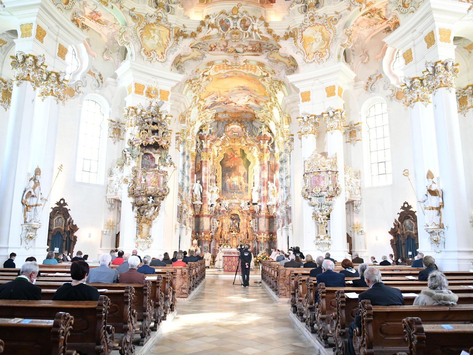 Die Wieskirche ist seit 1983 UNESCO-Weltkulturerbe