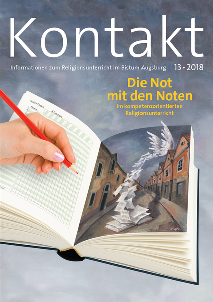 """Neues Kontakt-Heft zum Thema """"Noten im kompetenzorientierten Religionsunterricht"""""""
