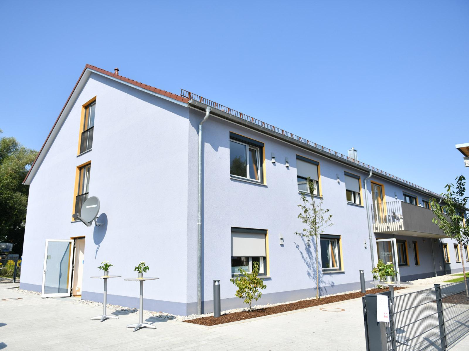 Das neue Caritas-Wohnheim bietet bis zu 20 Menschen Platz.