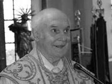 + Pfarrer i.R. Josef Wöppel. (Foto: PG Bayerdilling)