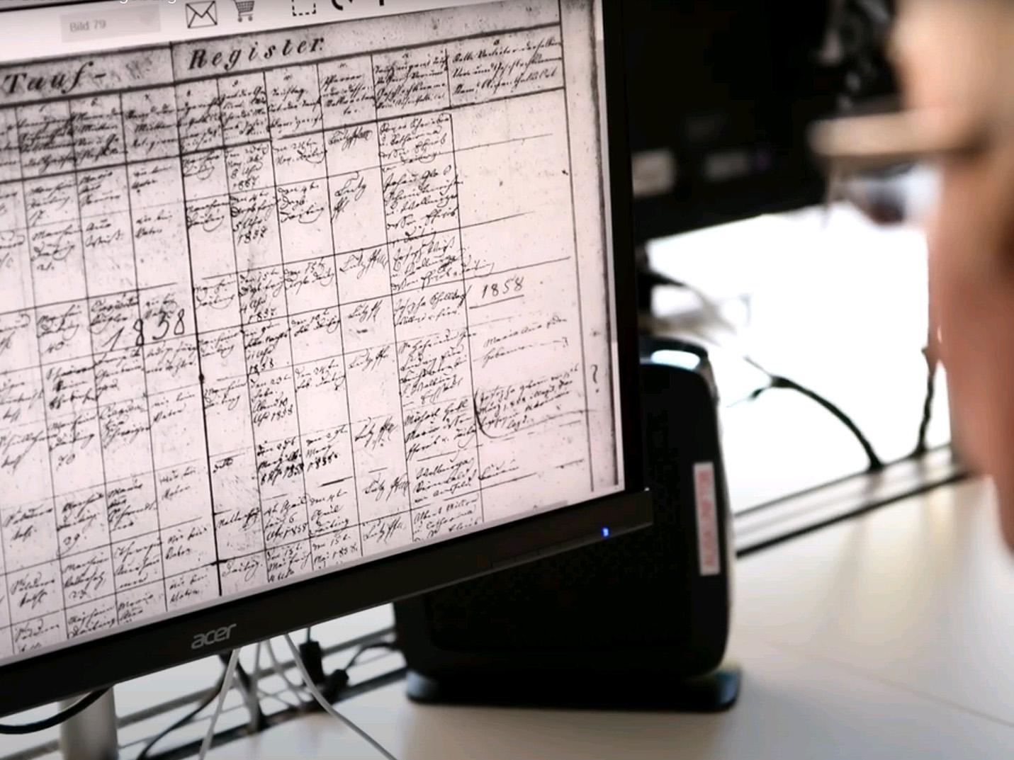Ab sofort müssen Familienforscher nicht mehr im Lesesaal des Bistumsarchivs recherchieren. (Foto: pba)