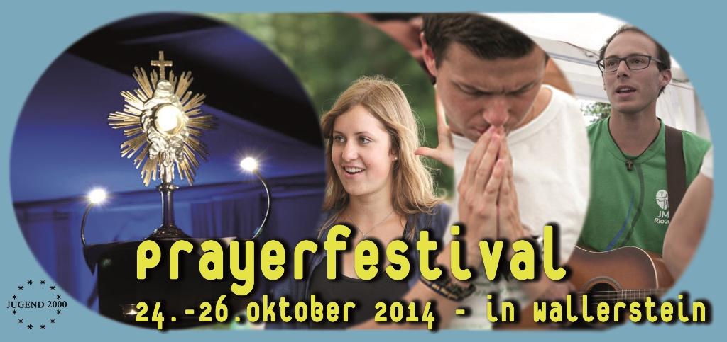 Prayerfestival der JUGEND 2000 in Wallerstein