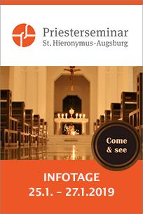 Priesterseminar der Diözese Augsburg lädt junge Männer zu Infotagen ein