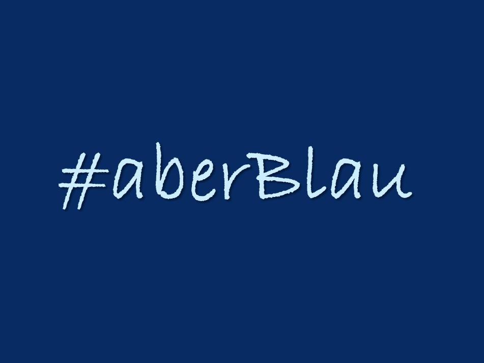 "Social Media Event zum Thema ""Blau"""