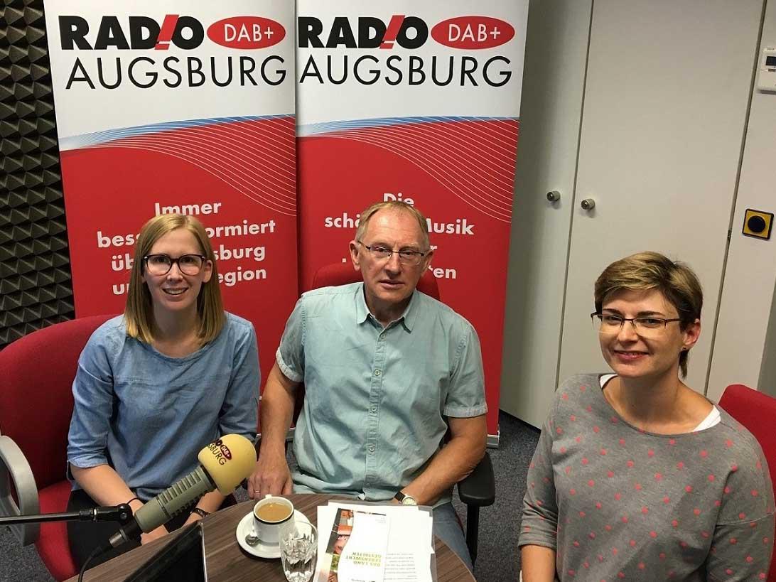 Am Sonntag zu hören: Moderatorin Katharina van der Beek im Gespräch mit Vera Schanz und Roman Aigner von der KLB. (Foto: SUV)