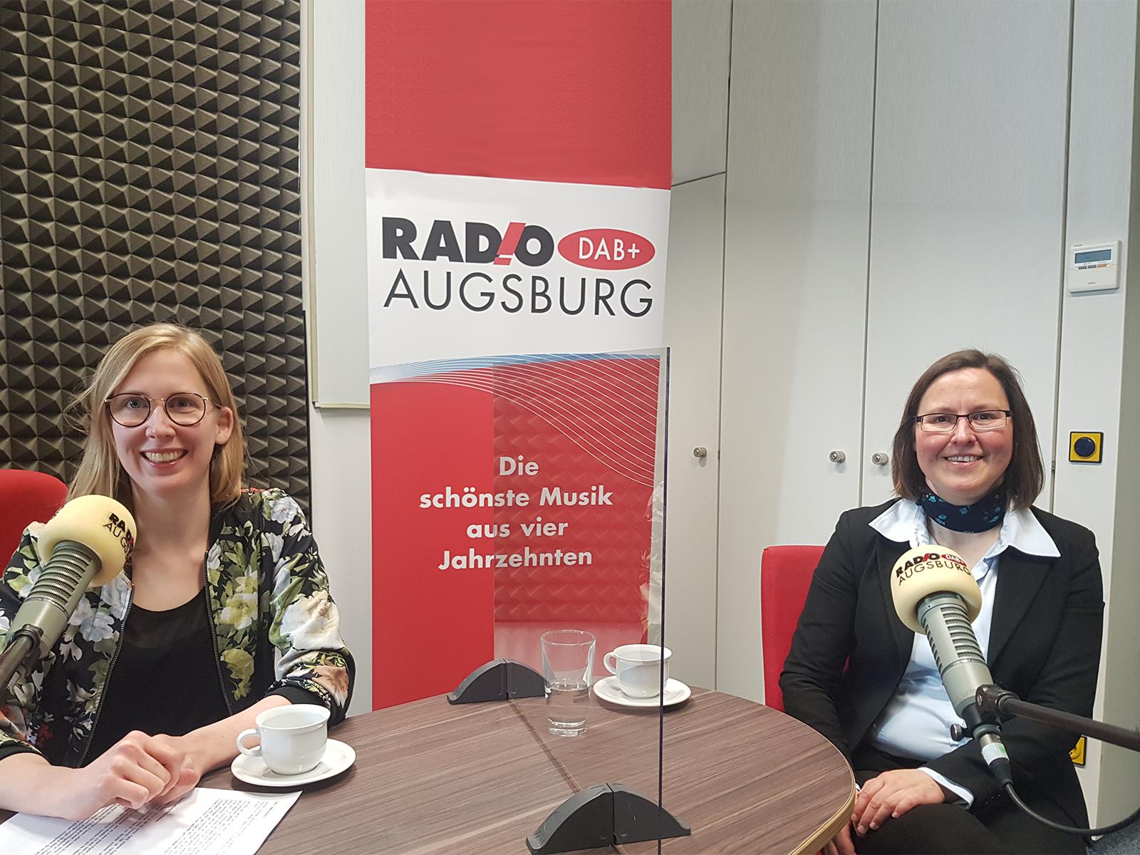 Im Cappuccino-Sonntagstalk spricht Sr. Anna Schenck über ihre neue Aufgabe als Amtsleiterin von Bischof Bertram. (Foto: Radio Augsburg)