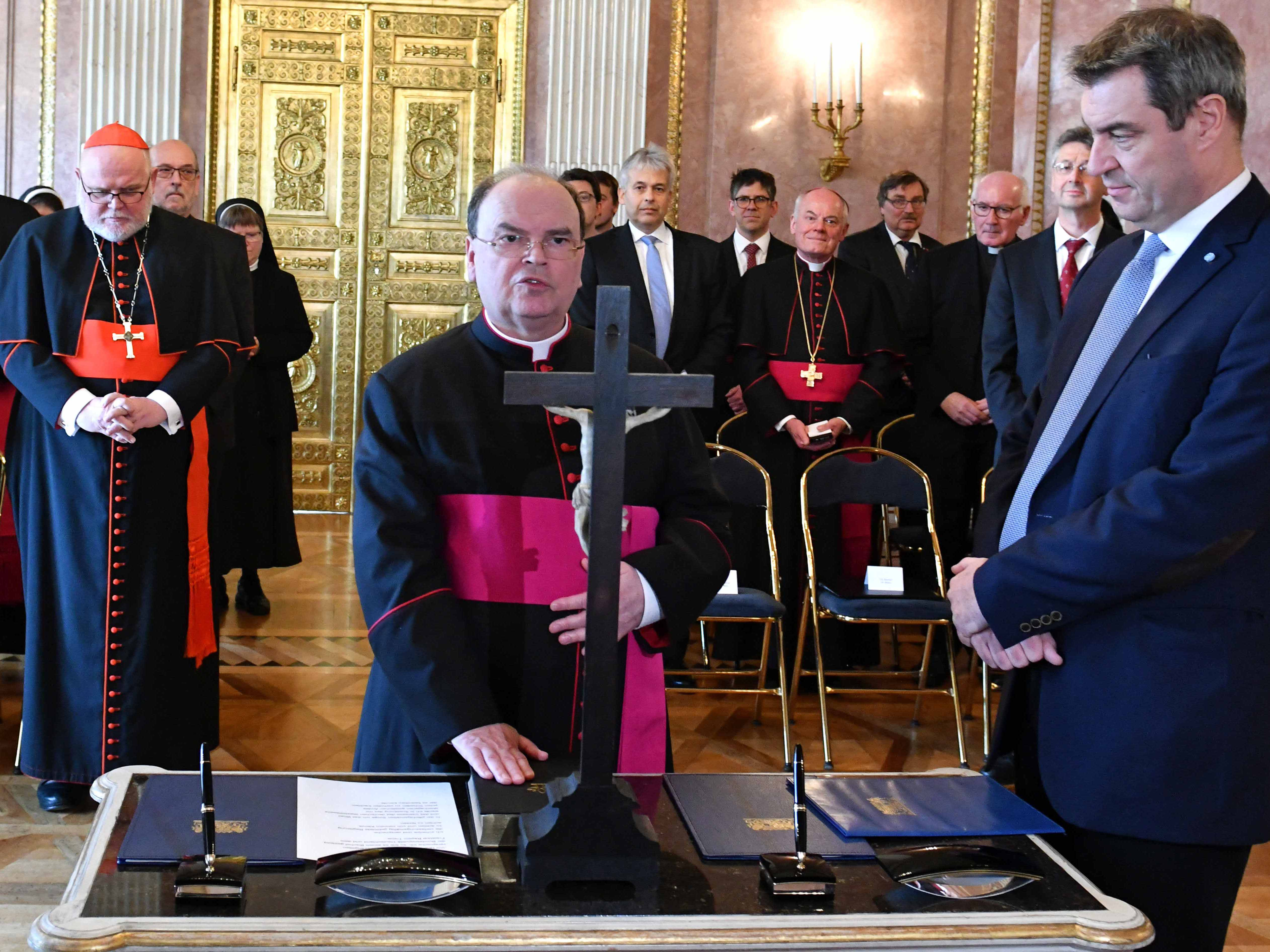 Vereidigung des ernannten Bischofs von Augsburg, Prälat Dr. Bertram Meier (Fotos: Nicolas Schnall / pba)