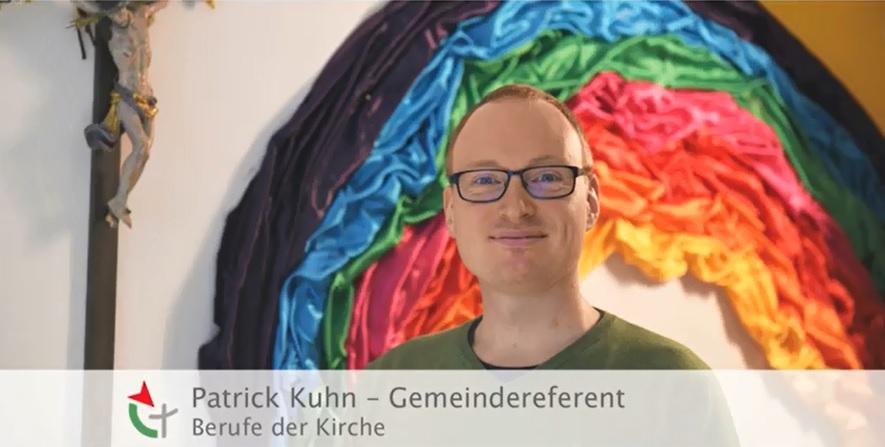 Videoclip: Einblicke in die Arbeit von Gemeindereferent Patrick Kuhn