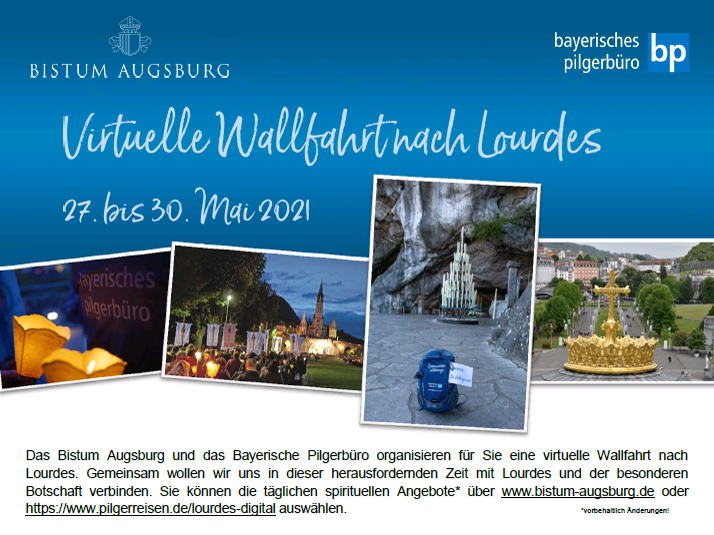 Virtuelle Lourdes-Wallfahrt mit Bischof Bertram