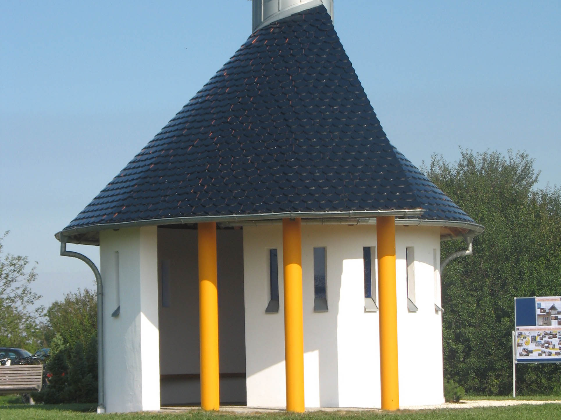 Die Kolping-Kapelle in Bobingen: Eines der 31 Ausflugsziele der virtuellen Sonntagstour (Foto: Kolping Diözesanverband)