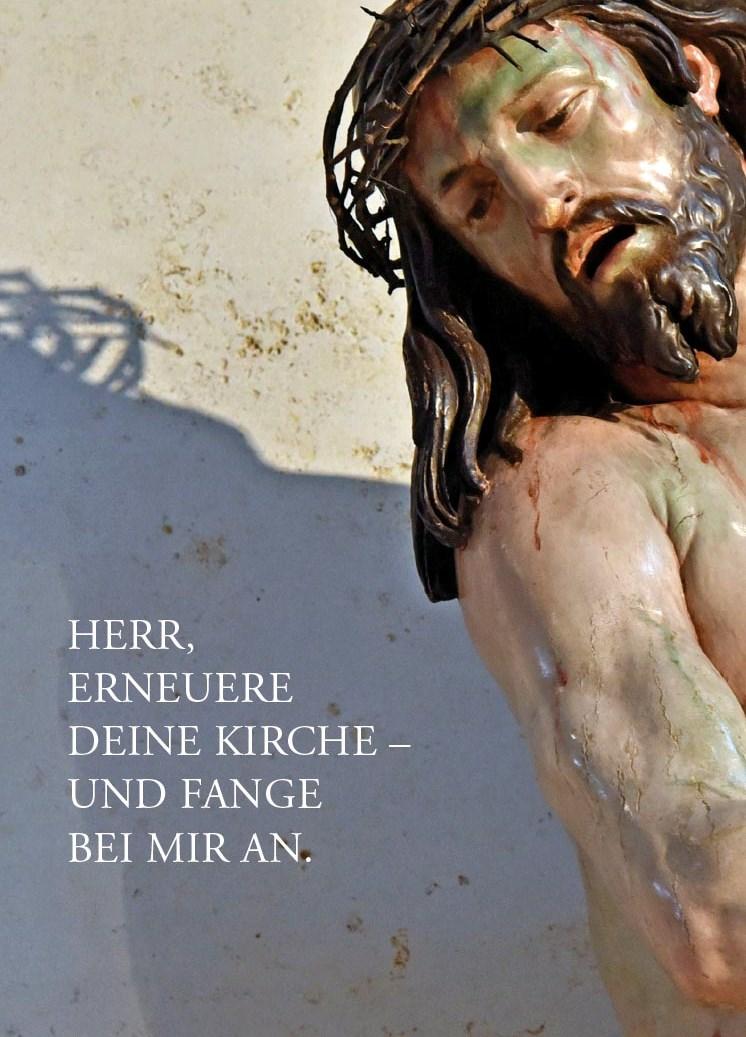 Gestaltung (Gebetsbildchen): SUV / Foto: Nicolas Schnall / pba