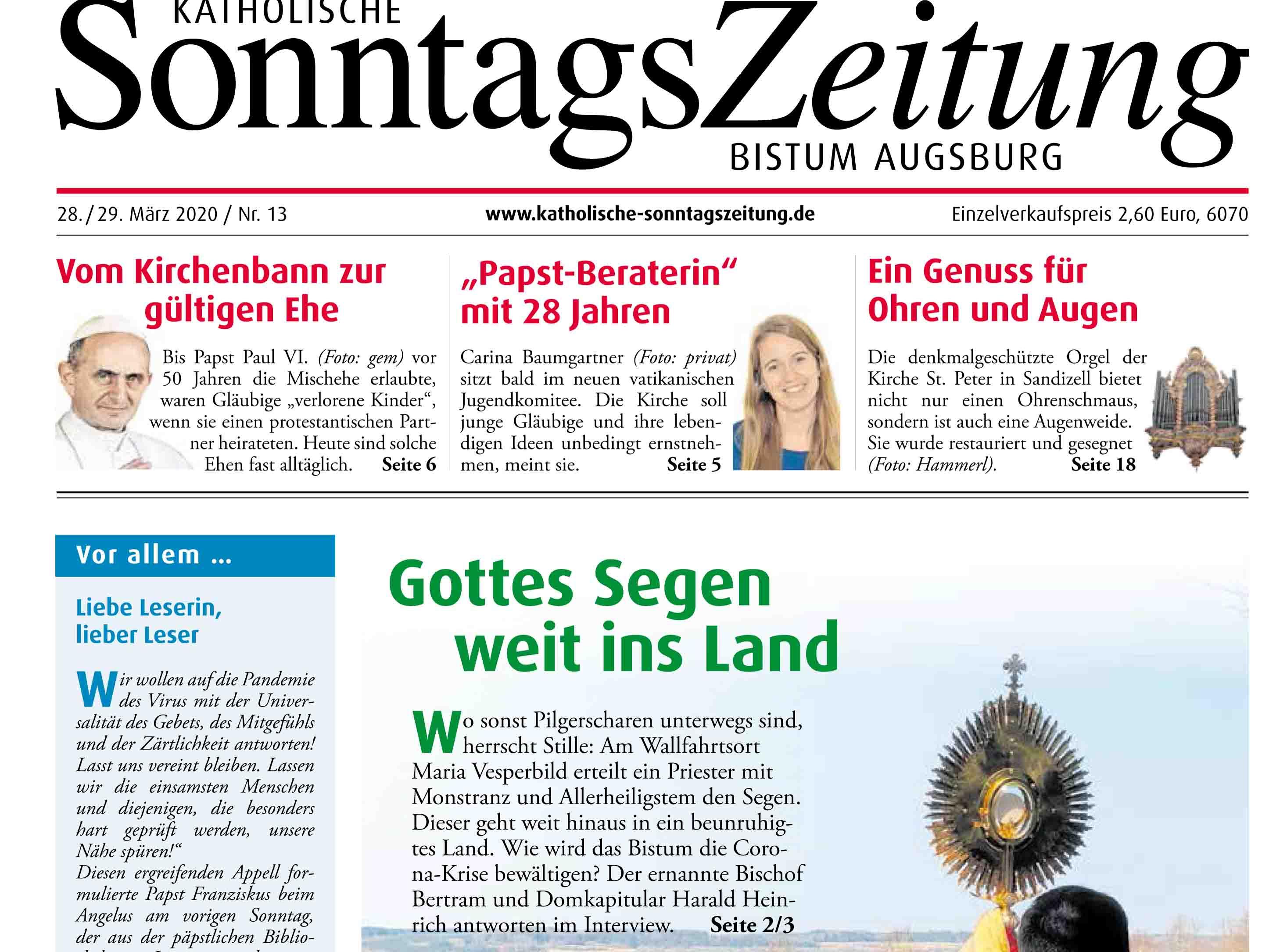 Wochenzeitungen gratis als E-Paper