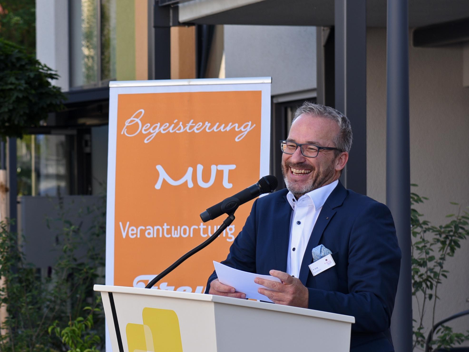 Kolping-Geschäftsführer Heinrich Lang (Foto: Simone Zwikirsch/pba)