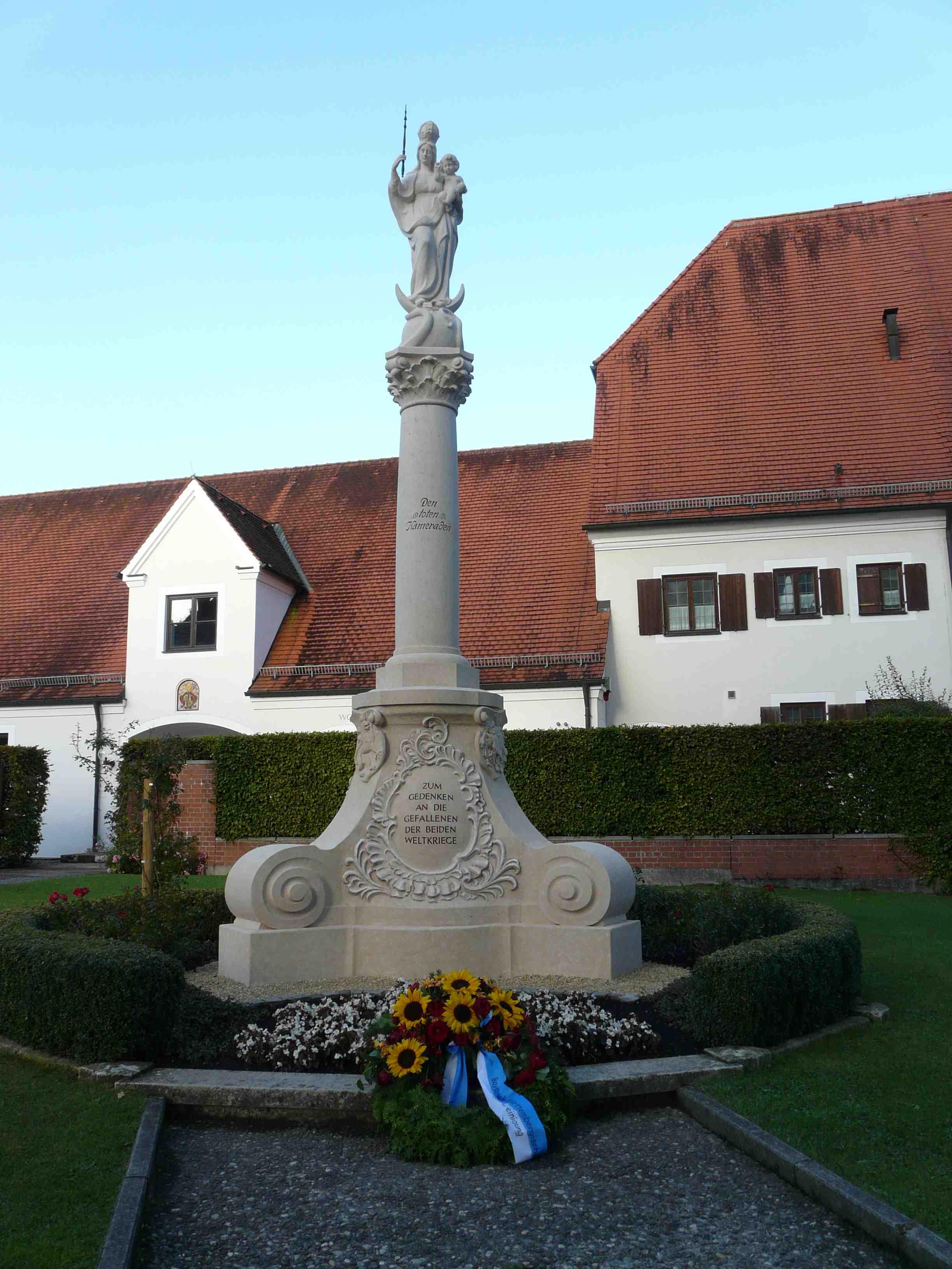 Mariensäule - Kriegerdenkmal