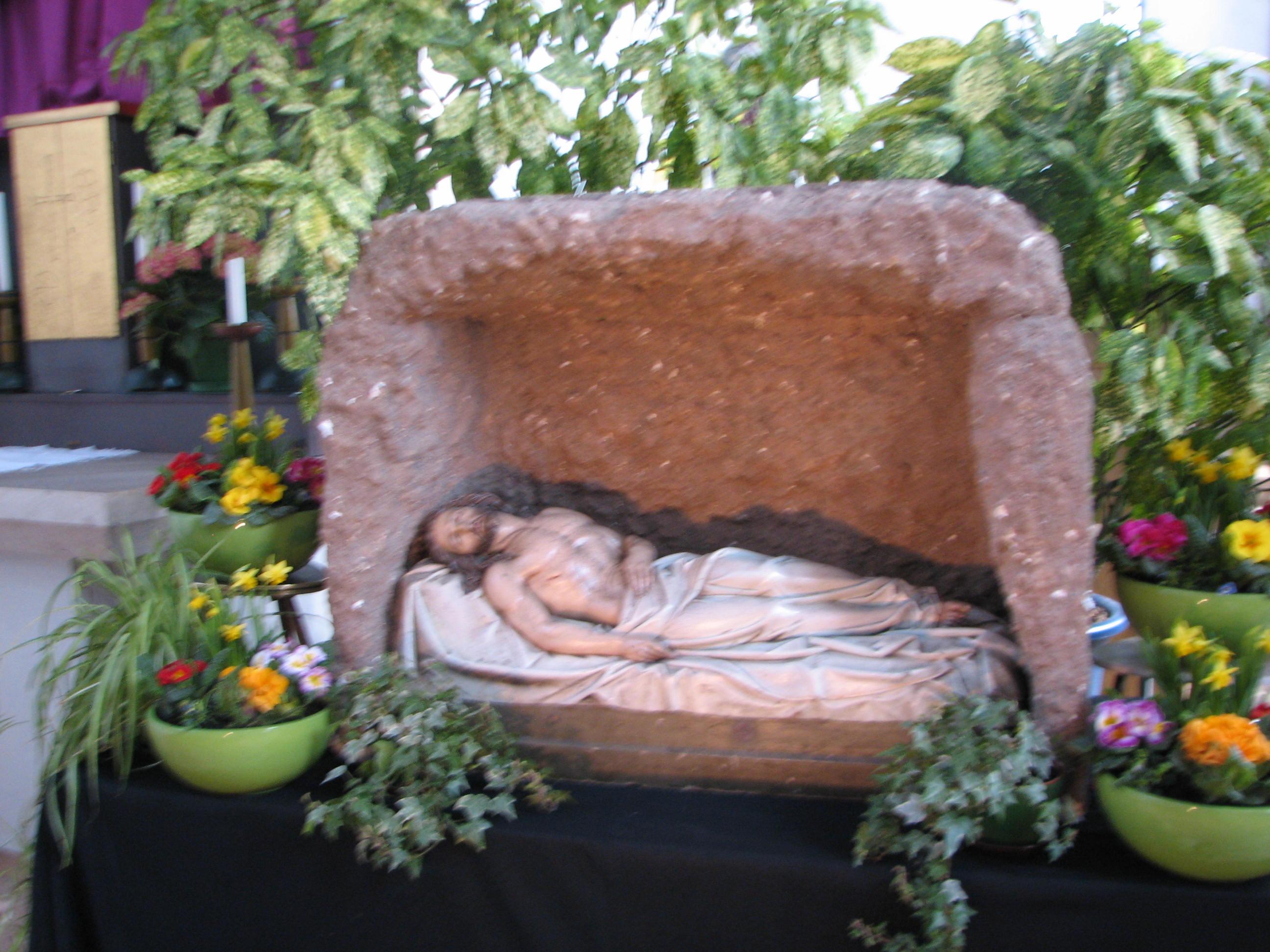 Christus im Grab