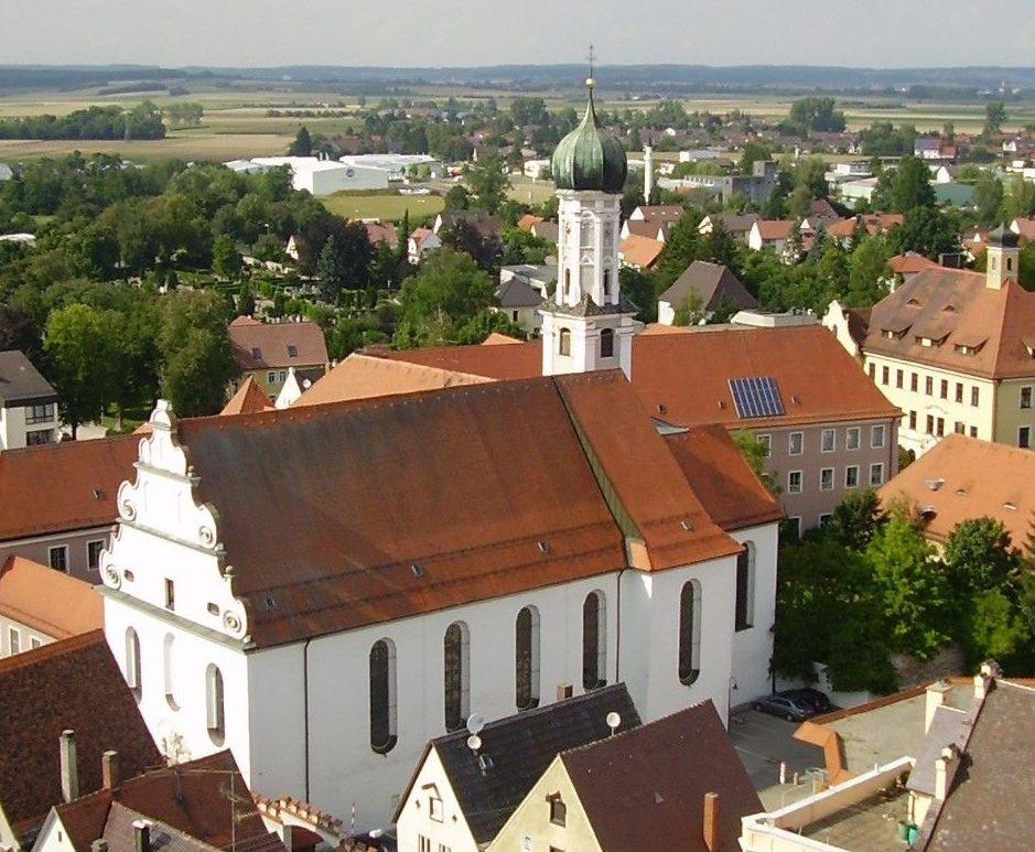 Die Augustinerkirche Thomas von Villanova zu Lauingen