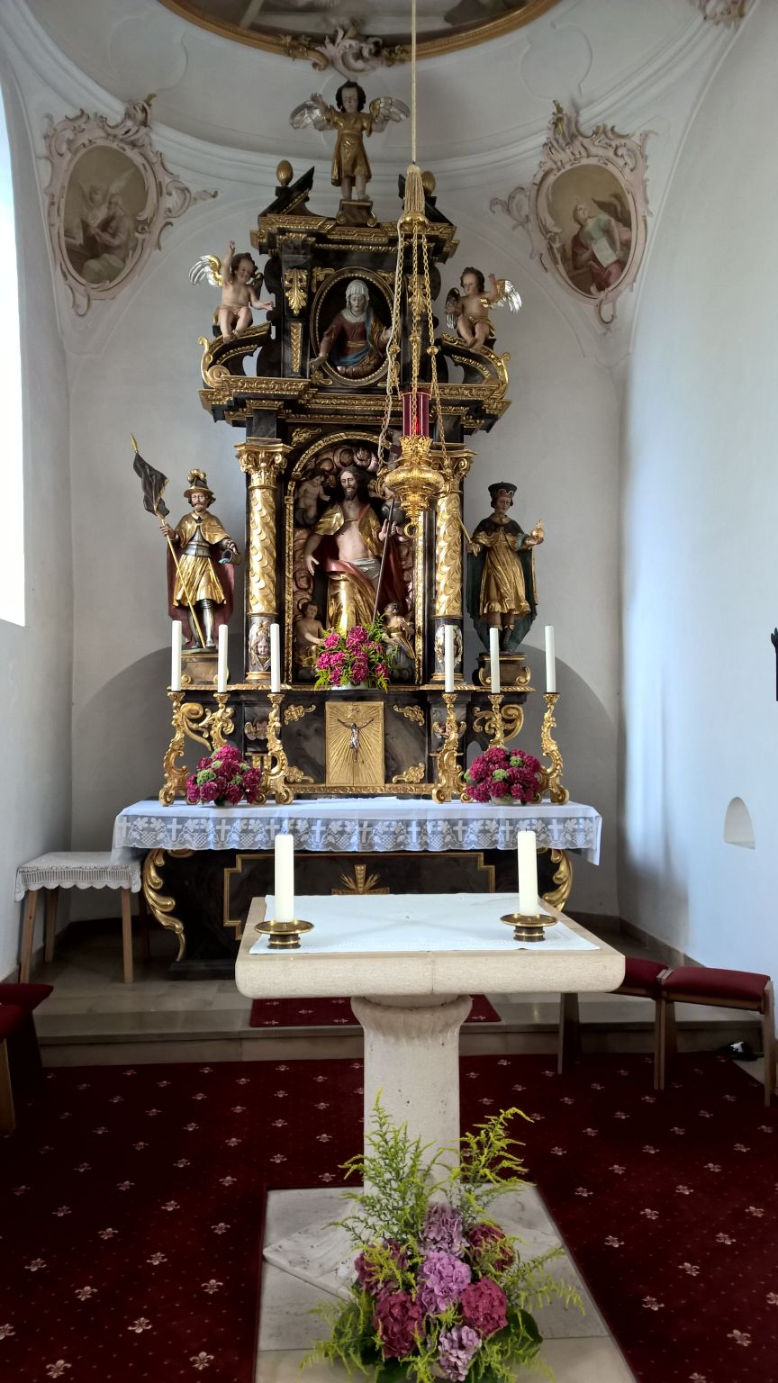 "Hochaltar in ""Mariä Himmelfahrt"" Frauenriedhausen"