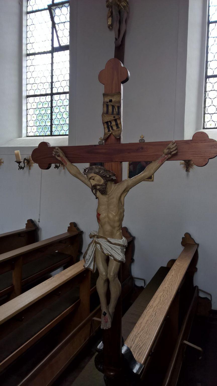 "Kruzifix in ""Mariä Himmelfahrt"" Frauenriedhausen"